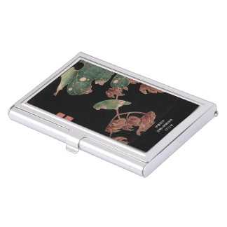 Itoh it is young 冲 'in the Chinese parasol tree Case For Business Cards