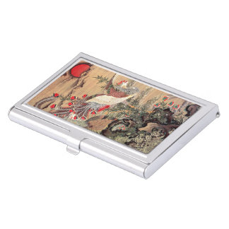 Itoh it is young 冲 'the Asahi day Houou figure' Business Card Case