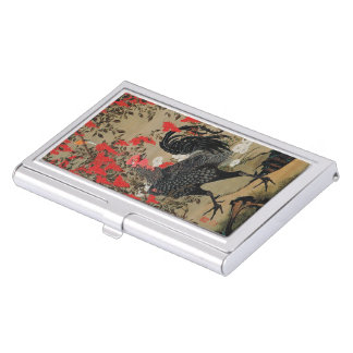 Itoh it is young 冲 'the nandina male chicken business card holders