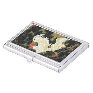 Itoh it is young 冲 'the old pine tree white business card holder