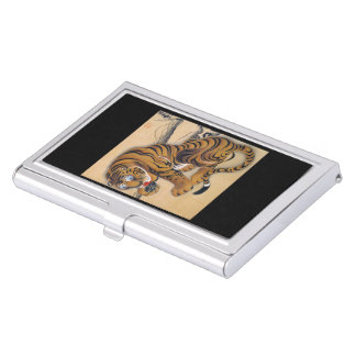 Itoh it is young 冲 'the tiger figure', Itō Jakuchū Business Card Holder