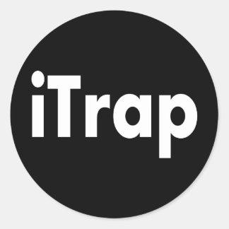 iTrap Classic Round Sticker