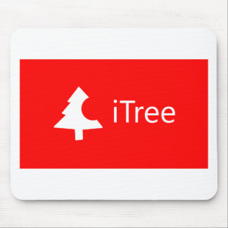 iTree - Sapin de Noël Apple Tapis De Souris