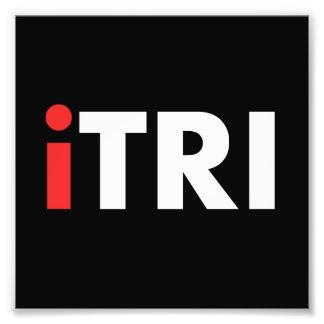 iTri Triathlon Photographic Print