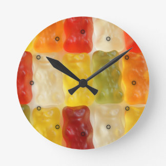 it's 3 gummy bears o'clock clocks