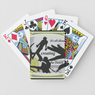 It's a'' About Creating the Dance Bicycle Playing Cards