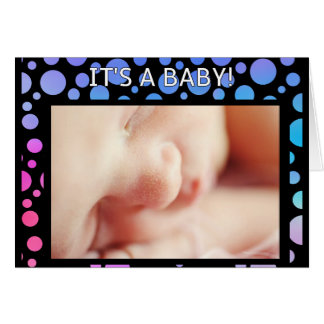 'It's a Baby!' card