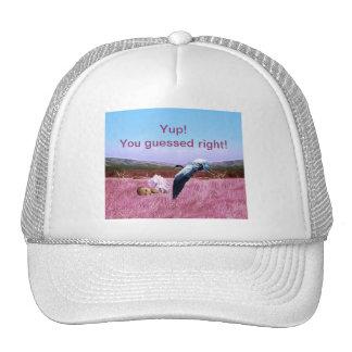 It's a baby girl trucker hat