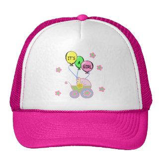 Its A Baby Girl Trucker Hats