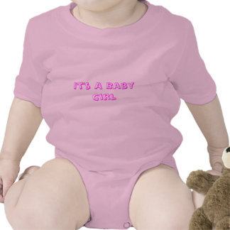 It's A Baby Girl T Shirt