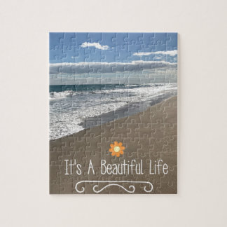 Its A Beautiful Life at the Beach Puzzles