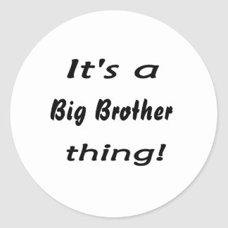 It's a big brother thing! stickers