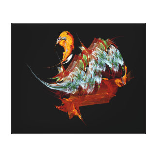 Its a bird canvas print