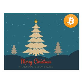 It's a Bitcoin Christmas! Postcard
