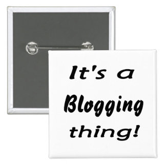 It's a blogging thing! pin