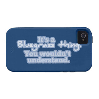 It's a Bluegrass Thing. You Wouldn't Understand. iPhone 4/4S Covers