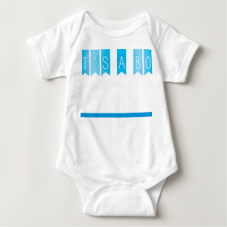 Its a boy announcement baby bodysuit