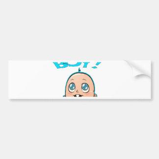 Its A Boy Baby Blue PNG Bumper Sticker