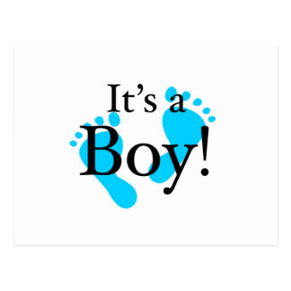 Its a Boy - Baby, Newborn, Celebration Postcard