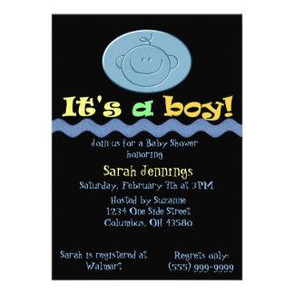 It's a Boy Baby Shower Invitation