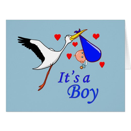 It's A Boy Card
