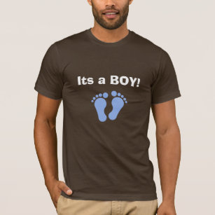 4e7ae6b9 Its a BOY! Cool dad to be shirt. T-Shirt