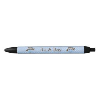 """It's A Boy"" Cute Owls Announcement Gift Pens"