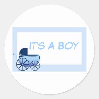 It's A Boy..Envelope Seals