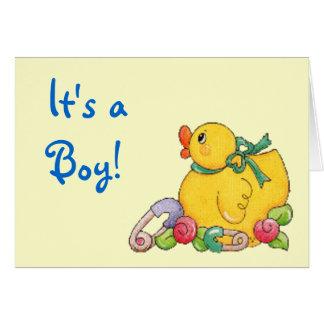 It's a , Boy! Greeting Card