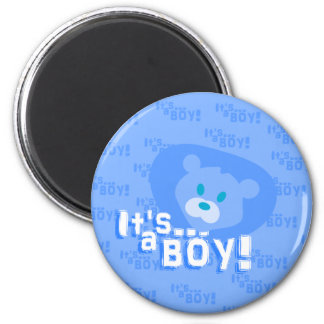 It's a boy! magnet