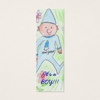 , It's a BOY!!! Mini Business Card