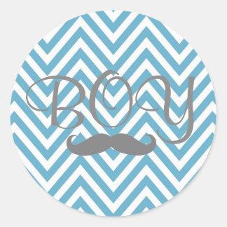 It's a BOY! Mustache Sticker