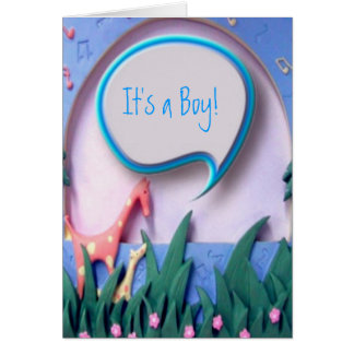 It's a Boy New Baby Announcement