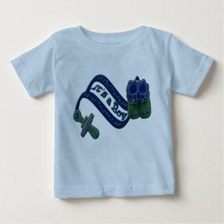 It's a Boy Pacifier Shoes T-shirt