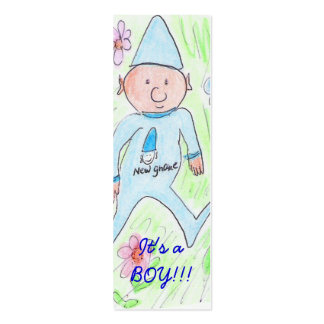 , It's a BOY!!! Pack Of Skinny Business Cards