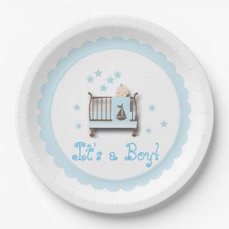 It's a Boy Paper Plate