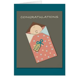 It's a Boy! Papercut Style Card