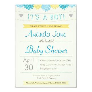 It's a Boy : Shower Invite