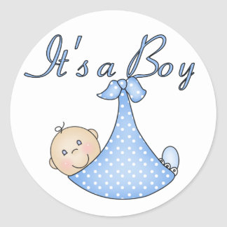 It's a Boy stickers