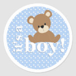 It's a Boy Teddy Bear Sticker