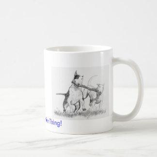 It's A Bull Terrier Thing! Classic White Coffee Mug