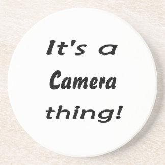 It's a camera thing! coaster
