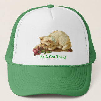 It's A Cat Thing Trucker Hat