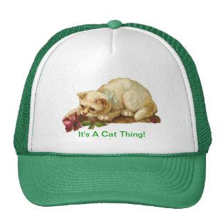 It's A Cat Thing Trucker Hat