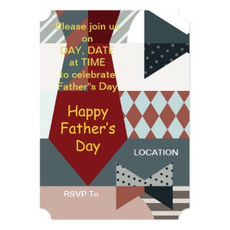 It's A Celebration Father's Day Party Invitations