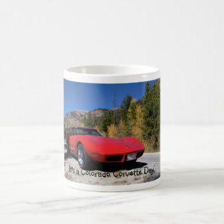 It's a Colorado Corvette Day Mug