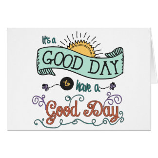 It's a Colorful Good Day by Jan Marvin Card