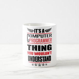 It's A Computer Programmer Thing Coffee Mug