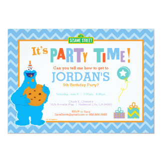 "It's a Cookie Party 5"" X 7"" Invitation Card"