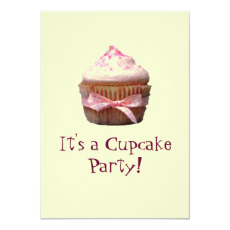 It's A Cupcake Party! Invitations